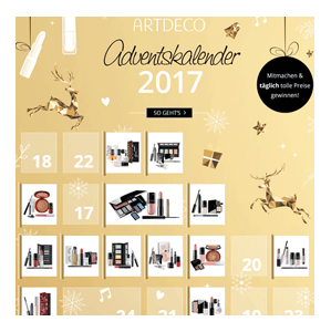 artdeco adventskalender gewinnspiel 2017. Black Bedroom Furniture Sets. Home Design Ideas