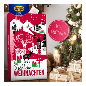 kr ger you gewinne jetzt den mega classic adventskalender von brandnooz mit kr ger produkt. Black Bedroom Furniture Sets. Home Design Ideas