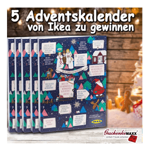 geschenkemaxx 5 ikea adventskalender inkl warengutschein. Black Bedroom Furniture Sets. Home Design Ideas